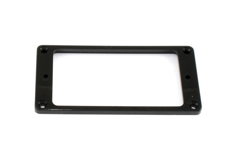 Humbucking pickup ring- slanted - flat underside - Plastic