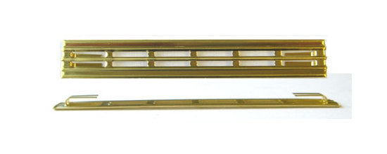 Amp grill - Mojo brass vent grill for Vox amps - no logo