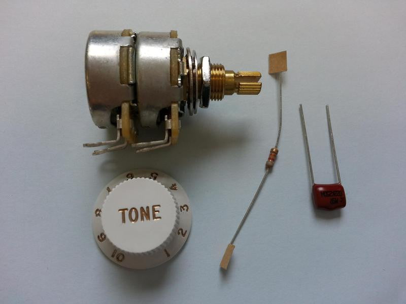 TBX Tone control potentiometer kit - genuine Fender