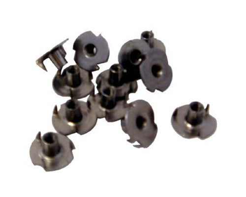 Amp nuts - T-Nuts 10/32 - for Brown/Black plastic strap handles (pack of 12)