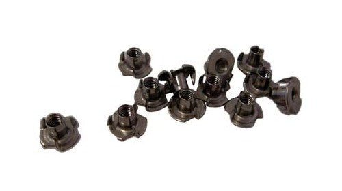 Amp nuts - T-Nuts 8/32 - for Dogbone and large leather handles (pack of 12)