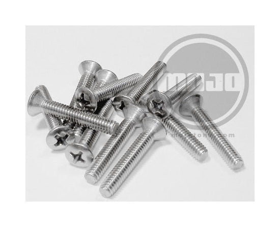 Amp handle fixing - 8/32 machine screw for dogbone handles (doz)