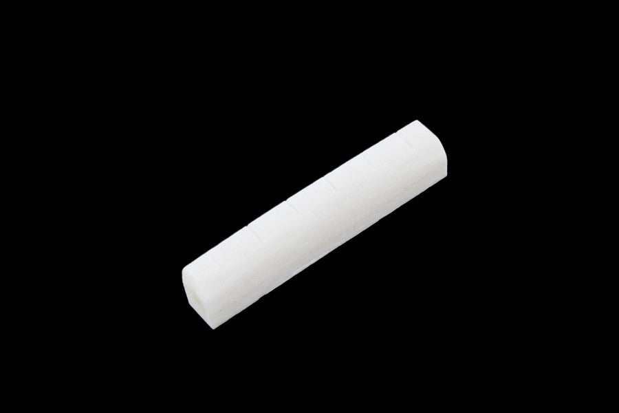 Bone nut for Epiphone guitars - slotted - 43 x 6 x 5 mm