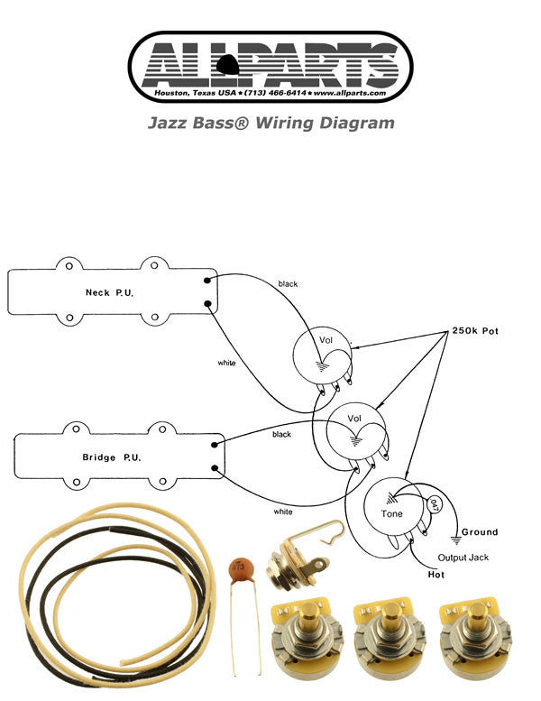 Wiring kit for JBass®