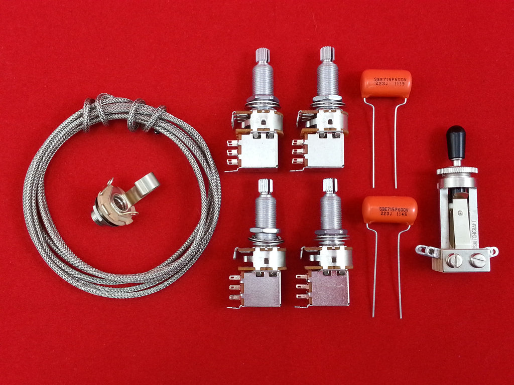 Wiring Kit Jimmy Page Les Paul Style Allparts Uk Guitar Input Jack
