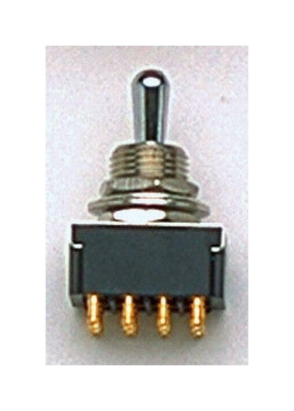 Switch - On-on-on 4-pole toggle switch (12 terminals)