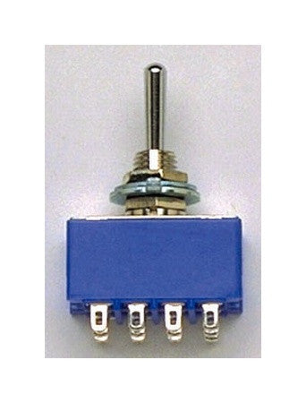 Switch - On-on mini switch 4-pole 4PDT (12 terminals)