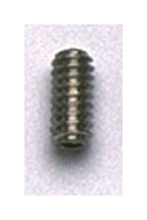 Screws - bridge saddle height screws for guitar - slot head - short - #4-40 x 1/4 inch