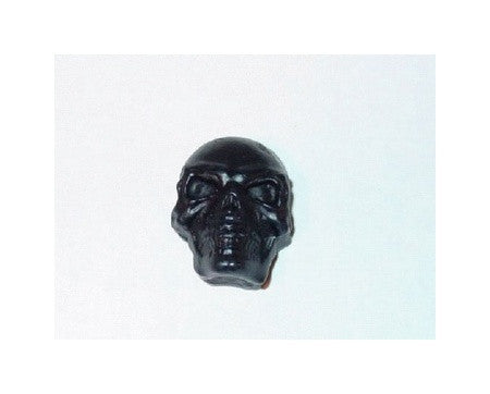 Skull knob push-on fits split shaft pot