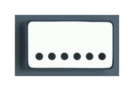 Humbucking pickup covers- set with wide spaced bridge