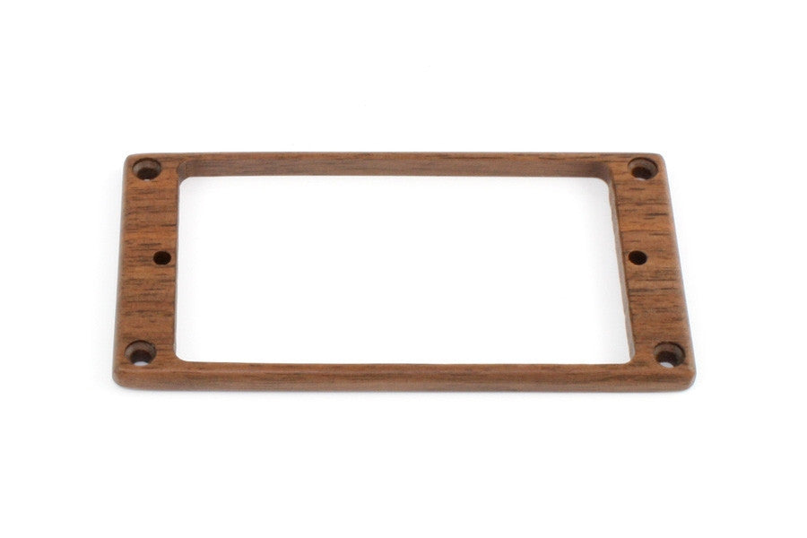Pickup surrounds for Humbucker - not-slanted flat underside wood