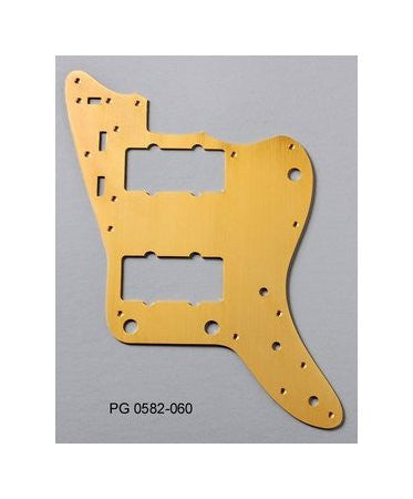 Pickguard for Jazzmaster  - anodized aluminium