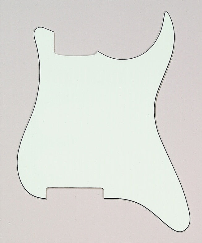 Pickguard outline for Strat® - no holes (3-ply)