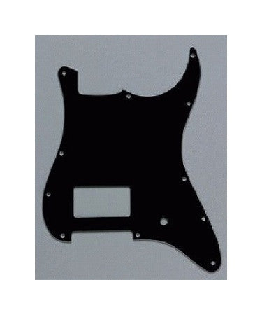Pickguard for Strat - 11 screw holes - 1 humbucker - 1 pot hole