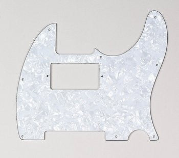 Pickguard for Tele - cut for neck humbucker - 8 screw holes
