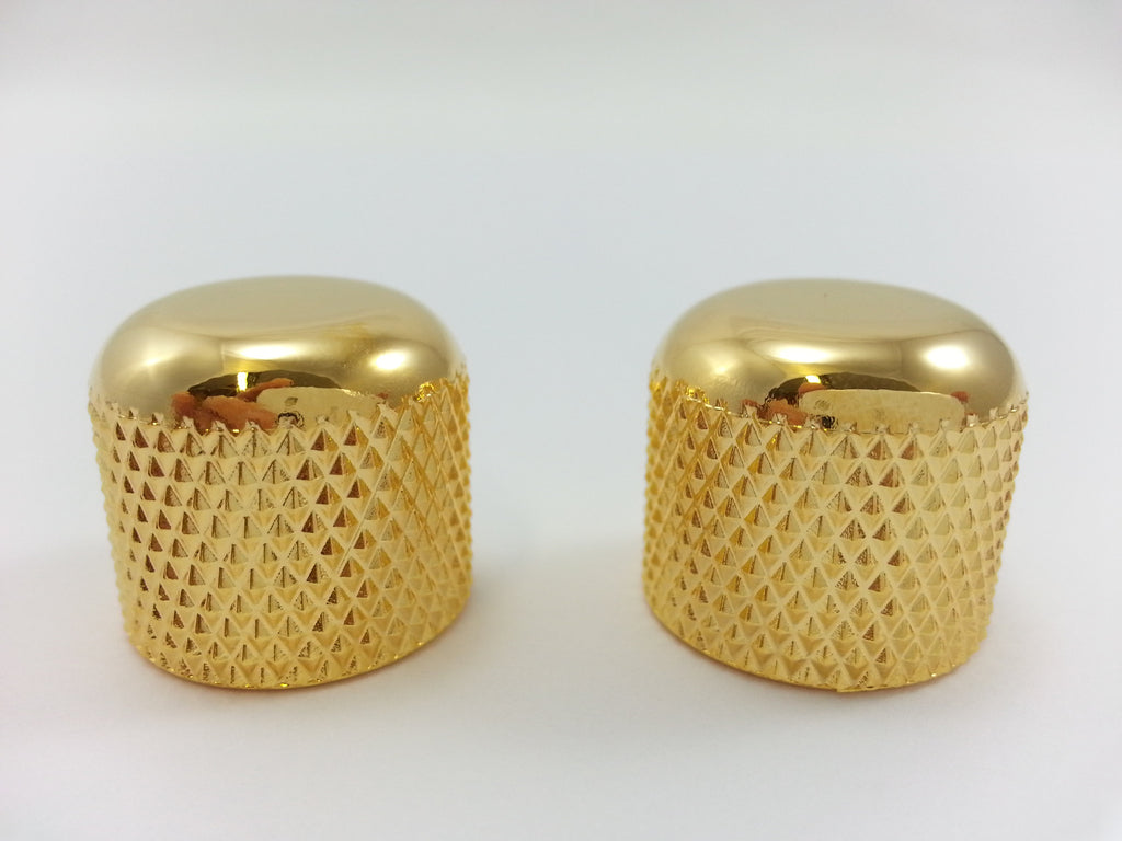 Knobs - dome (plastic) - push-on (set of 2)