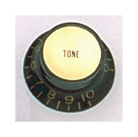 Knobs - reflector cap tone knobs w gold inserts