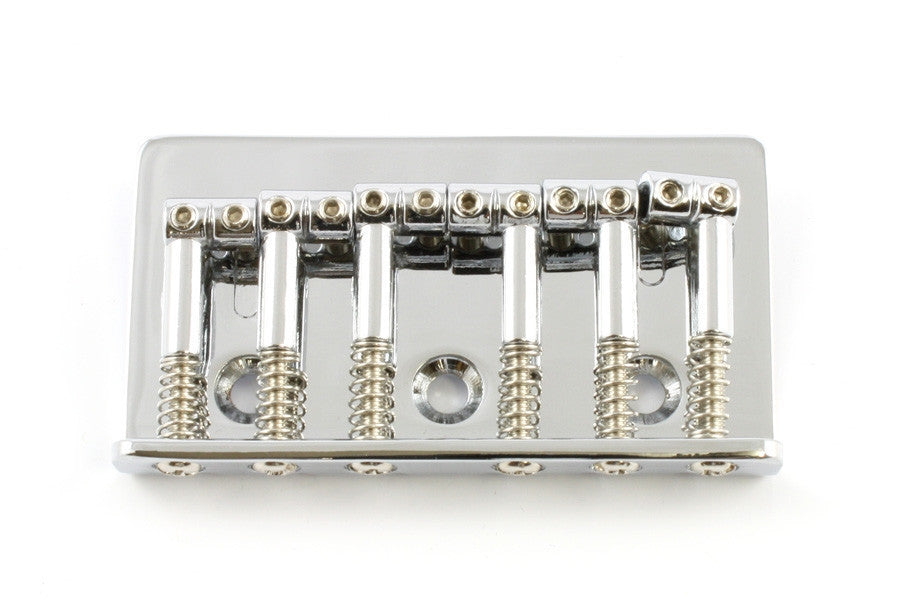 Guitar bridge - non-tremolo top loading guitar bridge - 54mm string spacing
