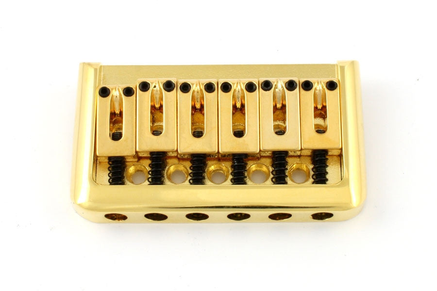 Guitar bridge - Non-tremolo bridge with steel saddles