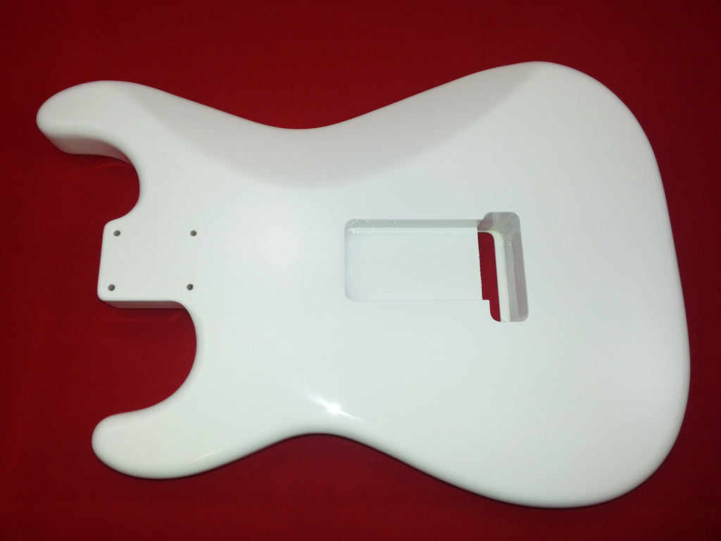Guitar body - replacement Body For Strat® - finished - olympic white
