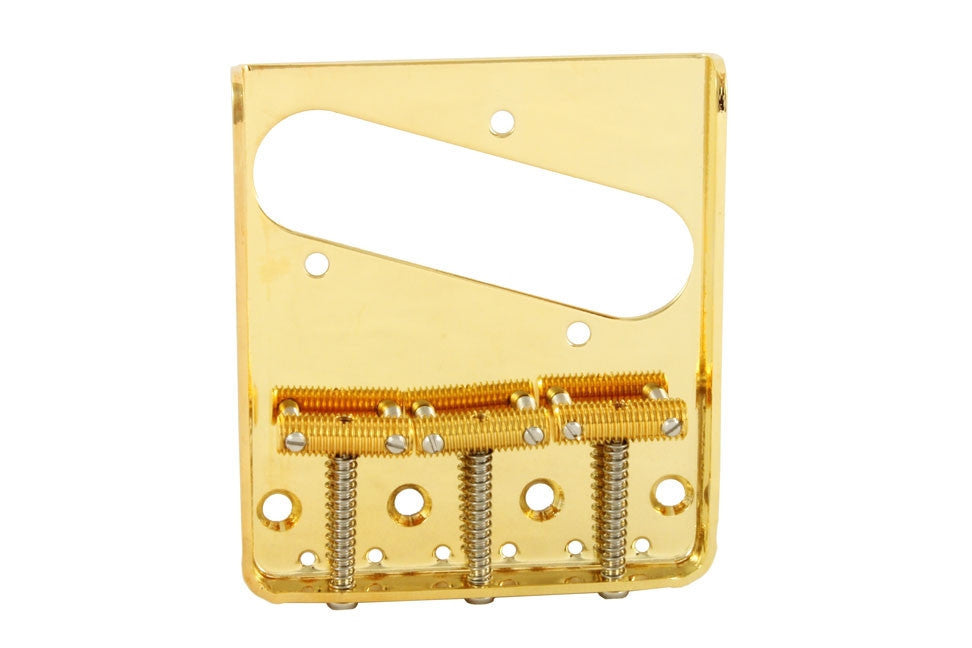 Guitar bridge for Telecaster - 3 saddle - vintage-style bridge