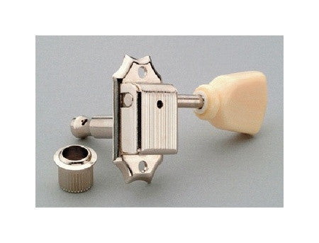 Tuning keys - Gotoh vintage style tuning keys 3x3 cream keystone buttons