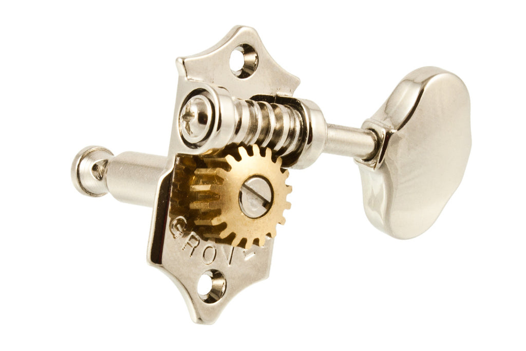 Tuning keys - Grover® V97-18 Sta-Tite 18:1 tuning keys 3x3 w scalloped buttons