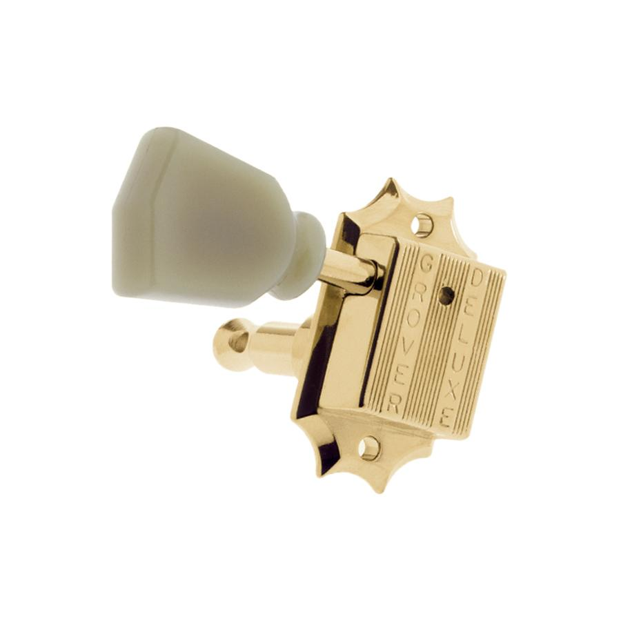 Grover® 135 vintage style tuning keys 3x3 plastic keystone buttons