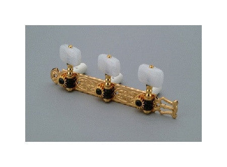 Tuning keys - Gotoh classical tuning keys w pearloid buttons wide spacing - 39mm