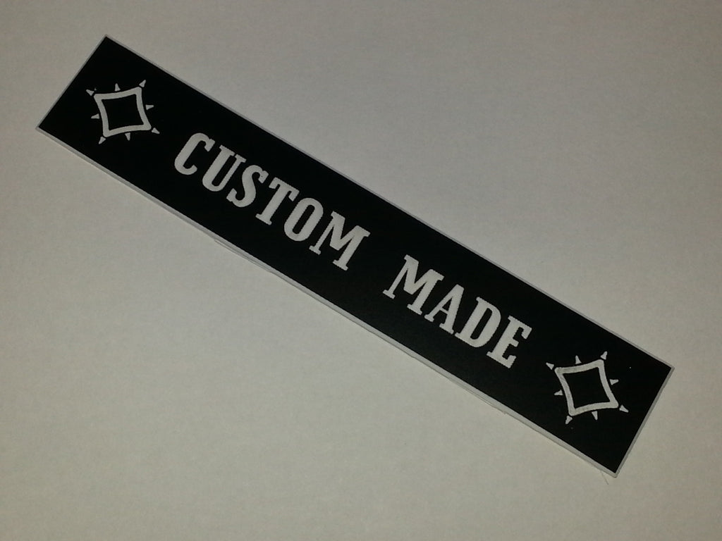 "Vibramate ""CUSTOM MADE"" Nameplate"