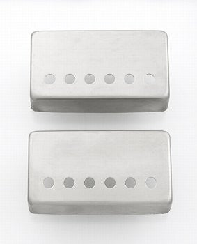 "Nickel-Silver Pickup Covers 2 CHROME 1-15//16/"" Spacing NEW"