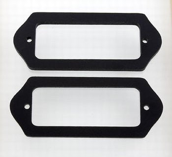 Pickup spacer set to go under P-90 pickups w ears  - set of 2,  1/8 inch (3.2mm) and 3/16 inch (5.2mm)