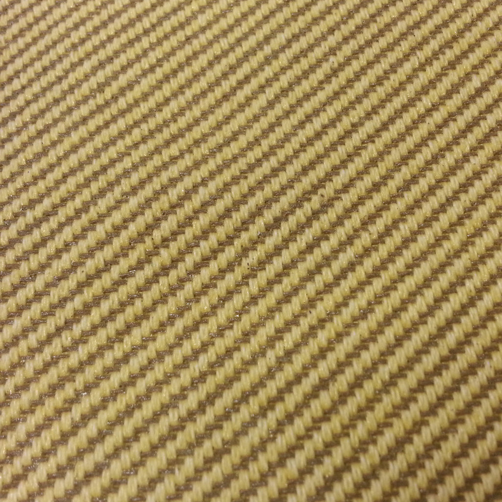 "Tweed - olive stripe/coated - 64 inch wide - sold by the yard (36"") length."