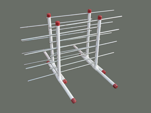 Speed Drying Racks - Mr. Speed's Painting Tools