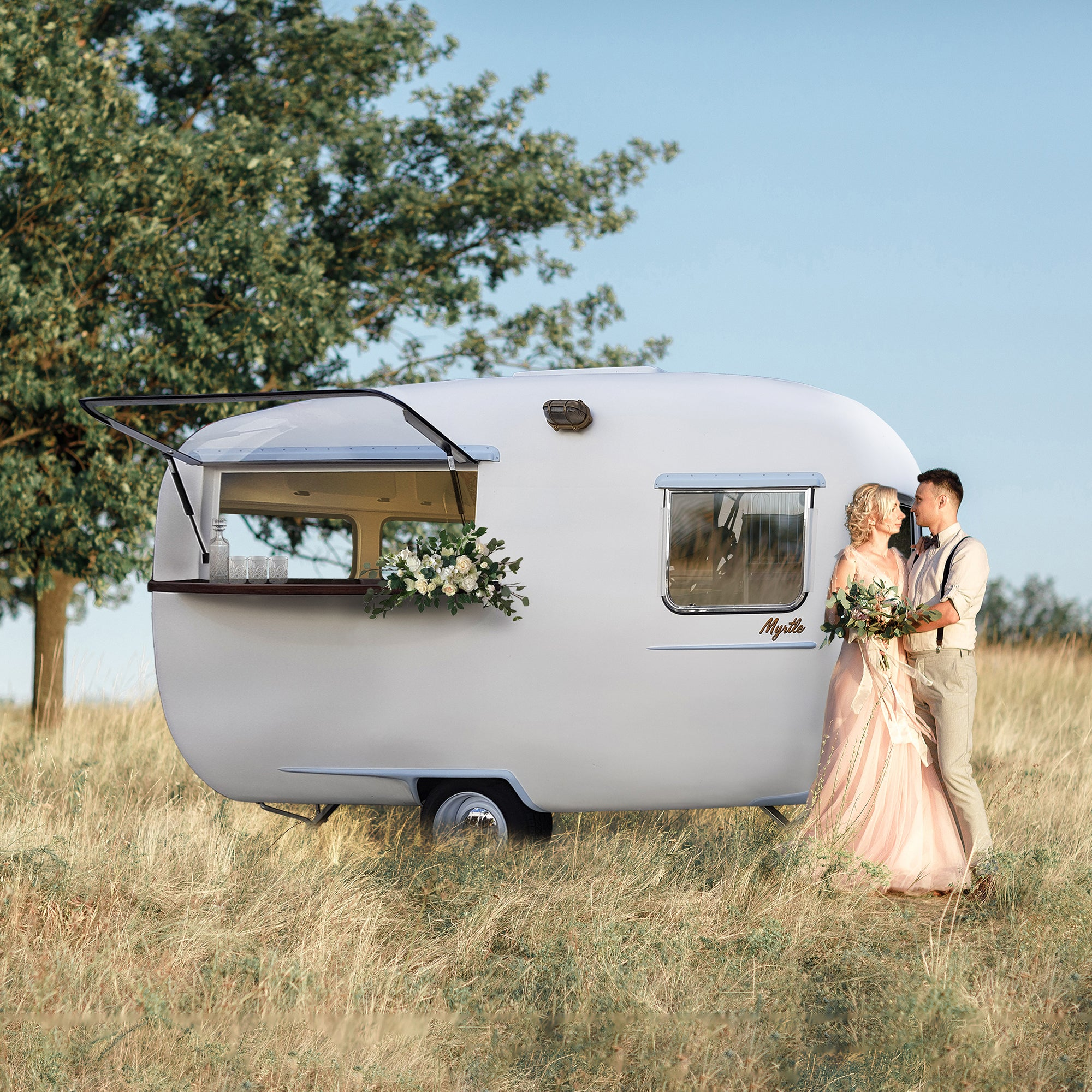Myrtle Caravan Bar - Wellington Wedding Hire