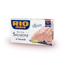 Filetto di salmone al naturale (150gr)