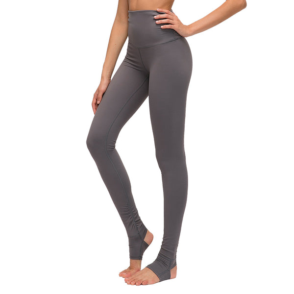 Merture Women's High Waist Stirrup Leggings Tights Gym Workout Yoga Pants