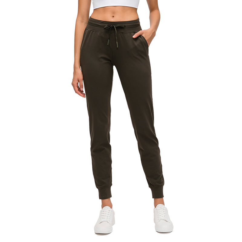 Stirabey Women's Drawstring Waist Yoga pants with side pockets