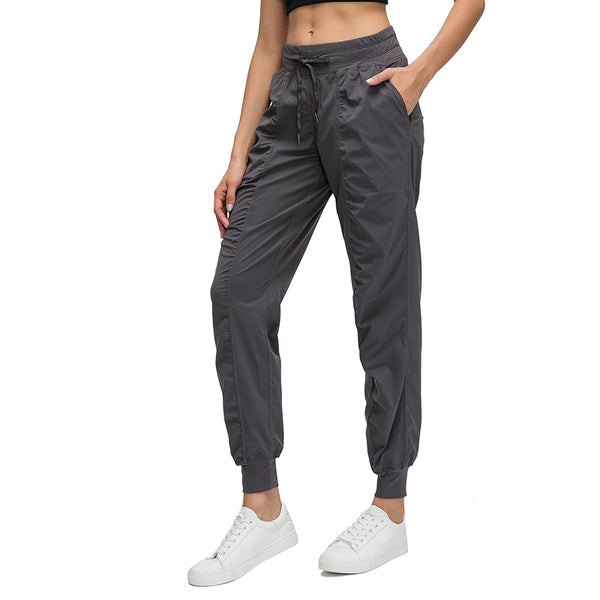 Colikdin Women's Sport Pants with Pockets  Running Workout Yoga pants