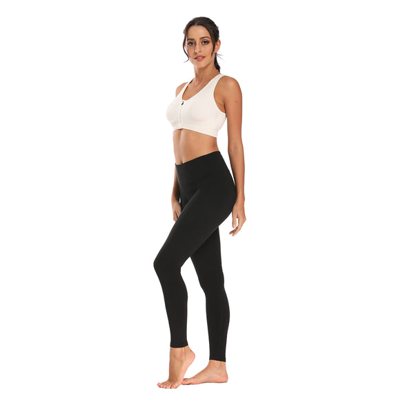 Houmous Women's Workout Ankle Leggings,  Full-Length Yoga Pants