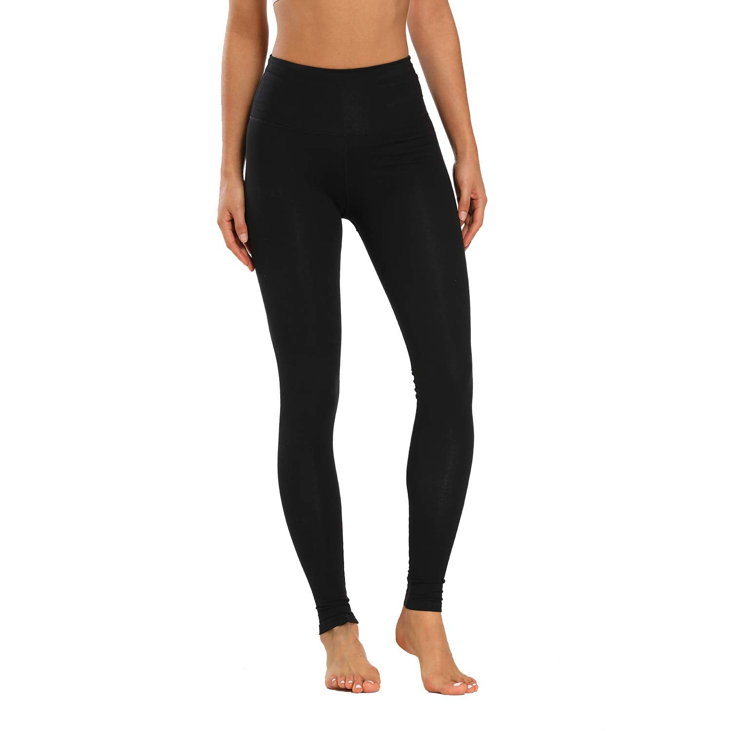 Houmous Women's High Waist Full-Length Yoga Pants Workout Pants  Leggings