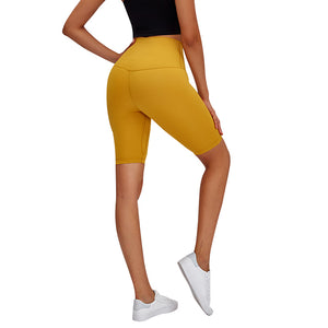Wikadlik Fitness Workout Running Yoga Shorts for Women