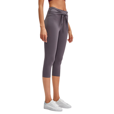 Formilian  Tummy Control Leggings for Women, Workout  Capri Leggings