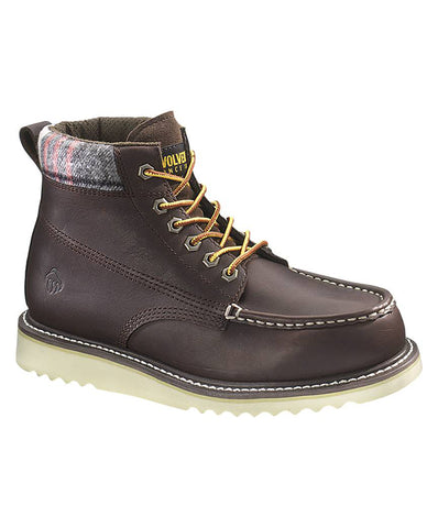"Wolverine Men's Shindell 6"" Moc Toe Casual Boots"