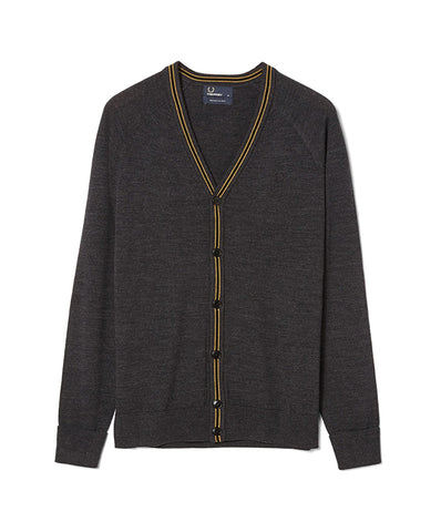 Fred Perry Men's School Jumper Cardigan