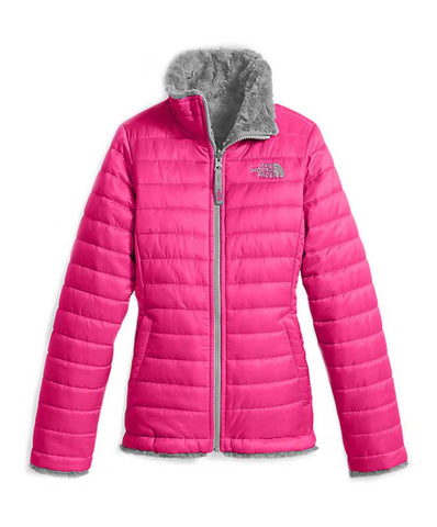 The North Face Girl's Rvrsble Mossbud Swirl Jacket