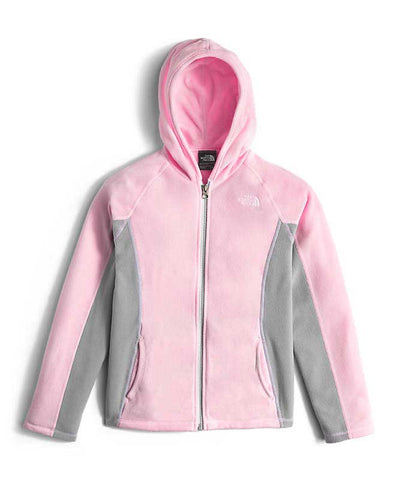 The North Face Girl's Glacier Full Zip Hoodie