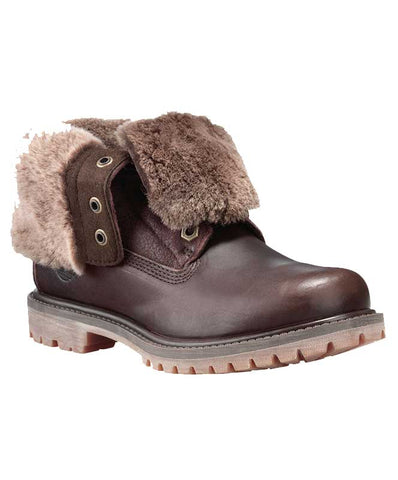 Timberland Women's Authentic Shearling Fold-Down