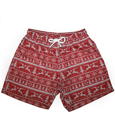 Kennedy Men's The Christmas in Julys Swim Trunk