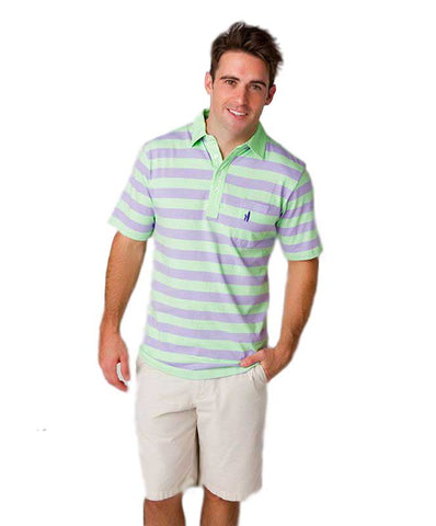 Johnnie-O Men's Rugby Stripe Polo